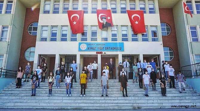 Aykut Yiğit'te LGS Başarısı Ödüllendirildi.