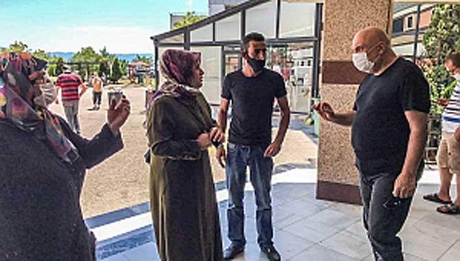 Engin Özkoç'tan patlamada yaralanan ve ölenlerin ailelerine bayram ziyareti