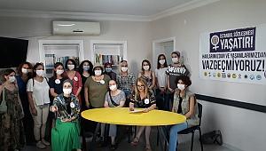 İstanbul Sözleşmesi ile ilgili basın açıklaması