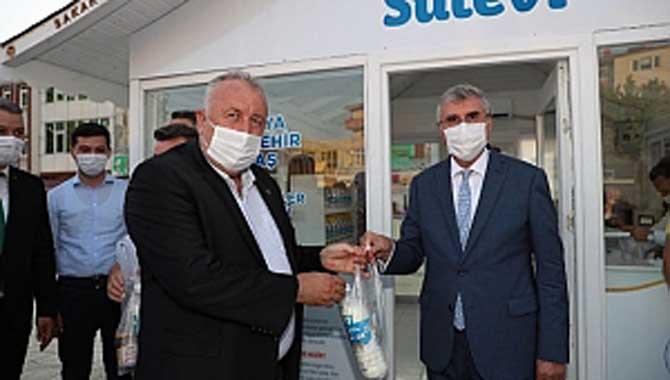 """""""Yeni Süt54 ofisi Erenler'e hayırlı olsun"""""""