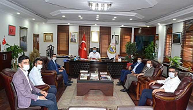 Başkan Özen, Müsiad Başkanı Filizfidanoğlu' nu Ağırladı