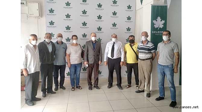 CHP Arifiye, Gelecek Partisi Arifiye İlçe Başkanlığı'nı ziyaret etti