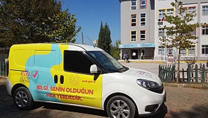 EBA Mobil Destek Aracı Ferizli'de