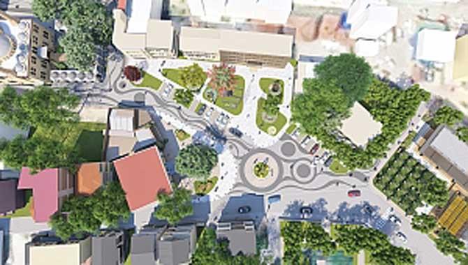 Geyve Meydan projesinin temeli atıldı