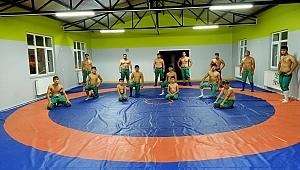 Karapürçek'te Güreş Salonu Hizmete açıldı