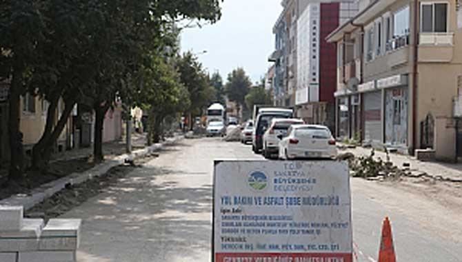 Kol Sokak'ta dönüşüm çalışmaları başladı