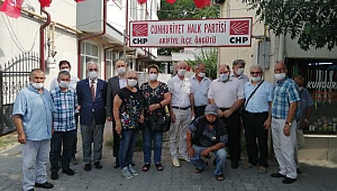 Saadet Partisi Arifiye CHP Arifiye'ye Ziyaret