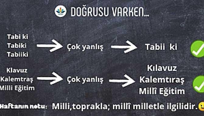 Sakarya MEM'den Türkçe'yi Doğru Kullanma Çalışması