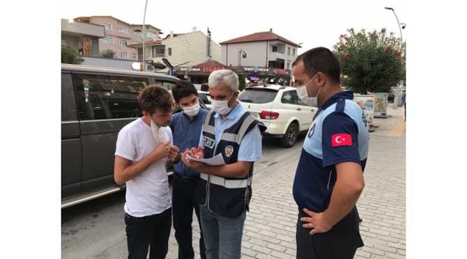 Serdivan'da Zabıta Ekipleri Covid Denetiminde