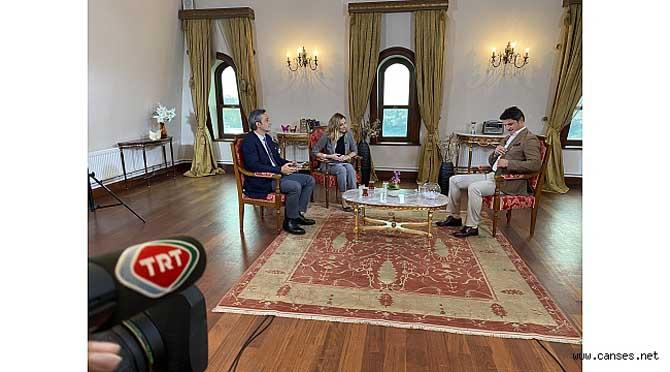 Uğur KOBAŞ EBA TV çekimlerinde.