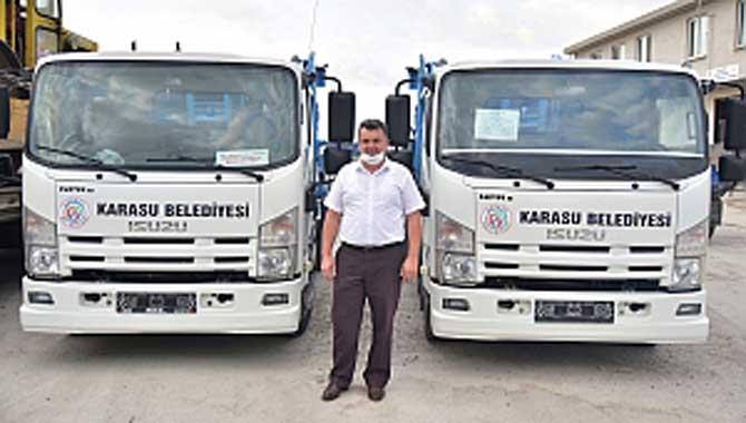 """""""Yeni Çöp Taksilerimizle Tertemiz Bir Karasu İçin Sahalardayız"""""""