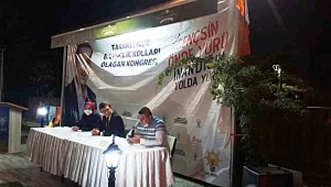 AK Parti Taraklı 6. olağan gençlik kongresi yapıldı