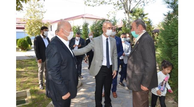 Akyazı'da Gelecek Partisi rüzgarı esti