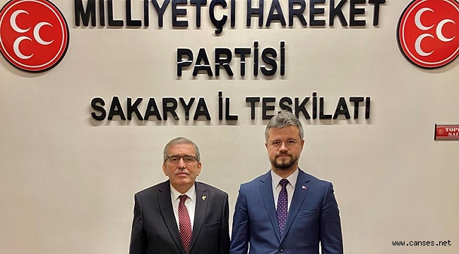 ASKF yönetiminden MHP yeni yönetimine hayırlı olsun ziyareti.