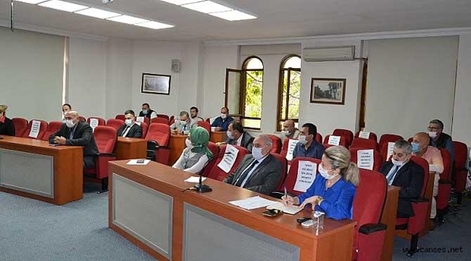 Başkan Özen'in, Daire Müdürleri İle Toplantısı