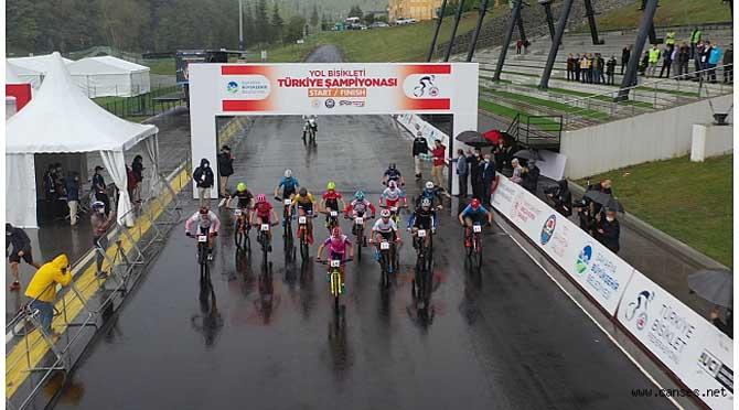 Bisiklet Vadisi şampiyona öncesi test yarışlarına ev sahipliği yaptı