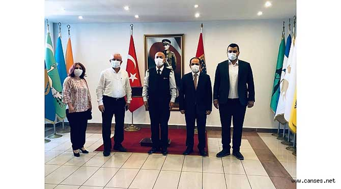DSİ ve İl Jandarma Komutanlığı Ziyareti