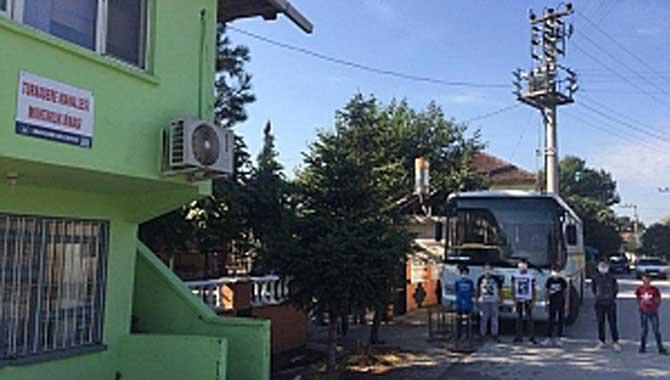 EBA Otobüsü Dernekkırı Köylerini Gezdi.