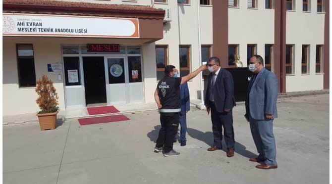 İl MEM Yöneticileri Okulları Geziyor