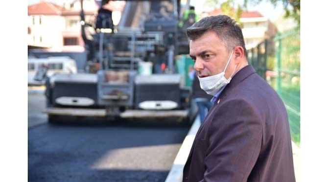 """""""Karasu'da Asfalt Çalışmaları Tam Gaz Devam Ediyor"""""""