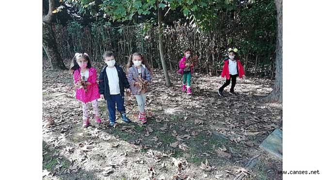 Sonbahar Kavramını Eğlenceli Bir Etkinlikle Öğrendiler.