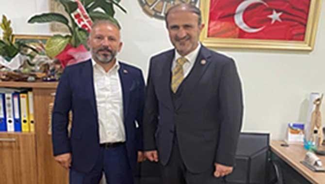 ASKF Önder Karan'ı ziyaret etti.
