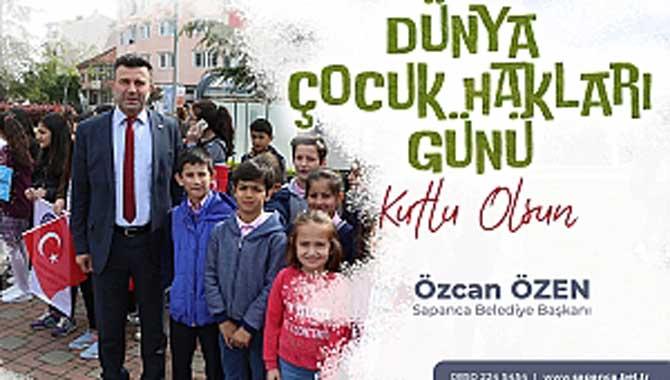 Başkan Özen'in Çocuk Hakları Günü Kutlama Mesajı