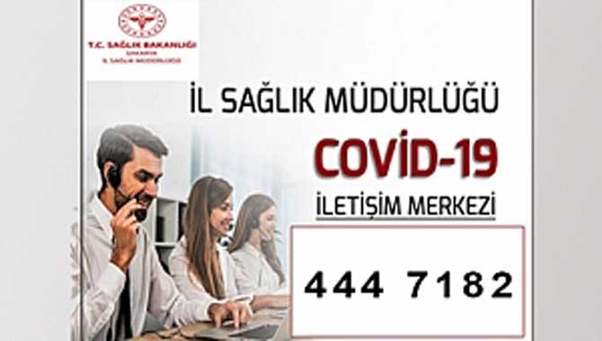Covid-19 Sağlık Destek Hattına tek numaradan ulaşılacak