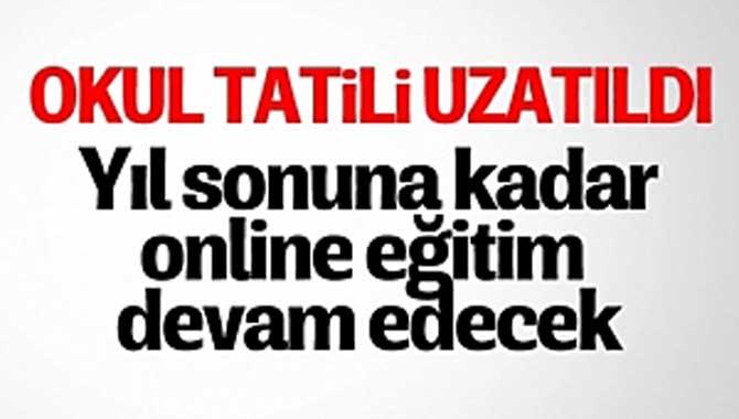 Cumhurbaşkanı Erdoğan: Yıl sonuna kadar uzaktan eğitim olacak