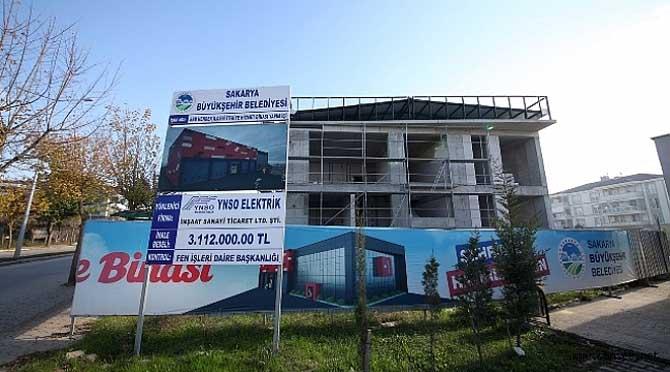Hendek yeni itfaiye binası için gün sayıyor