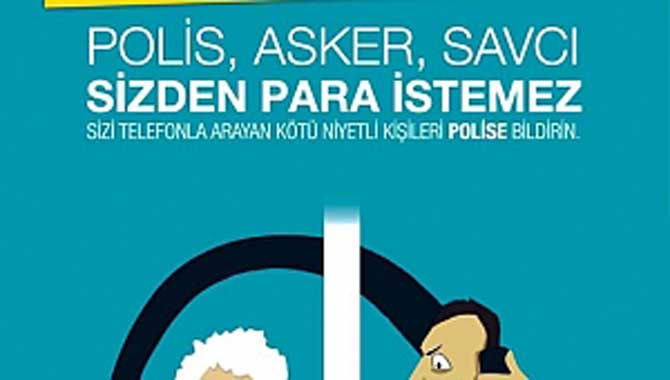 İlçe Emniyet Amirliği vatandaşları telefon dolandırıcılarına karşı uyardı