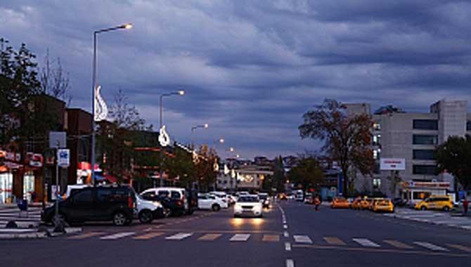 Lale motifli aydınlatmalar şehre çok yakıştı