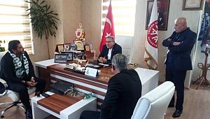 Sakaryaspor Başkan Adayı Uğur Akkuş Askf ziyaret etti