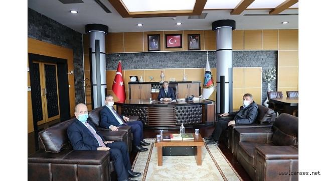 Tarım ve Orman Bakanlığı 1.Bölge Müdürü'nden Alemdar'a Ziyaret
