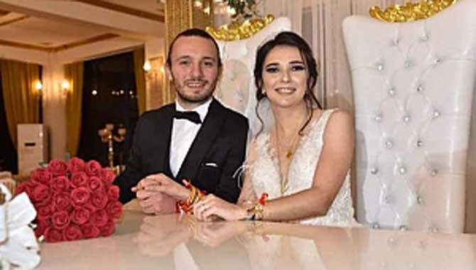 Tuğçenur ile Ensar, rüya gibi düğünle evlendi