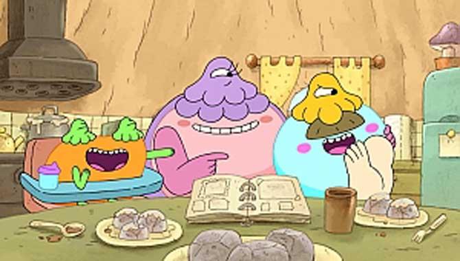 Yepyeni eğlenceli bir komedi serisi; Mantargiller