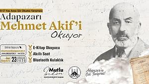 Akif'in Şiirlerini En Güzel Okuyana Ödül