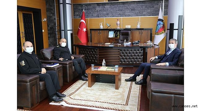 İl Jandarma Komutanı'ndan Alemdar'a Ziyaret