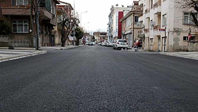Kol Sokak'ta dönüşüm tamamlanıyor