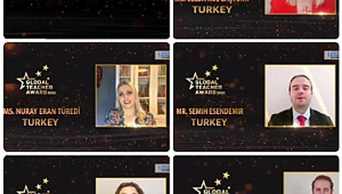 Küresel Öğretmen Ödülü Elçisi seçildi