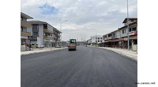 2 günde 4 bin ton asfalt