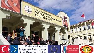 Bir Erasmus Hareketliliği.
