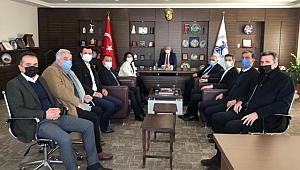 DEVA Partisi SESOB'u ziyaret etti.