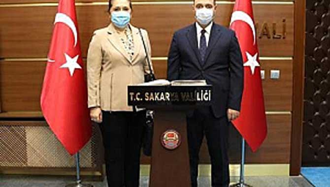 Kosova'nın İstanbul Başkonsolosundan Kaldırım'a Ziyaret