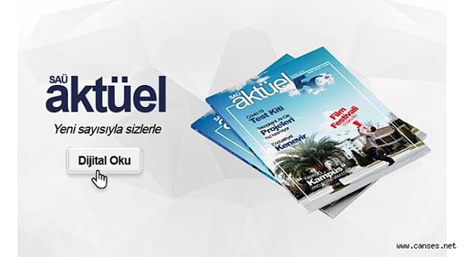 SAÜ Aktüel Dergisinin Yeni Sayısı Çıktı