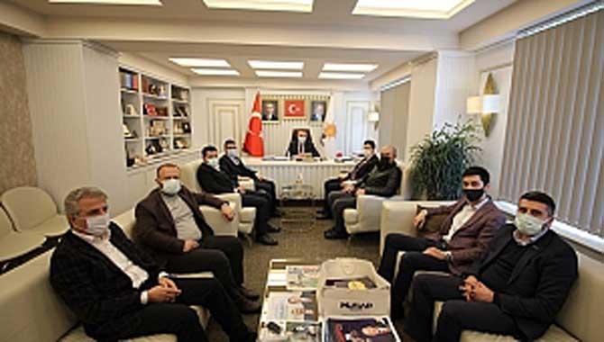 AK Parti ve MHP'yi Ziyaret Ettiler.