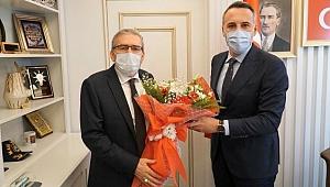 ASKF il ve ilçe başkanını ziyaret etti.