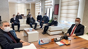 Başkan Mutlu Işıksu ASKF Ziyaret etti.