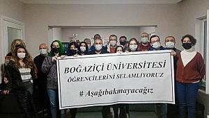 Boğaziçi Üniversitesi Öğrencileri Selamlıyoruz.