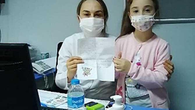 Sağlık Çalışanlarına Teşekkür Mektupları
